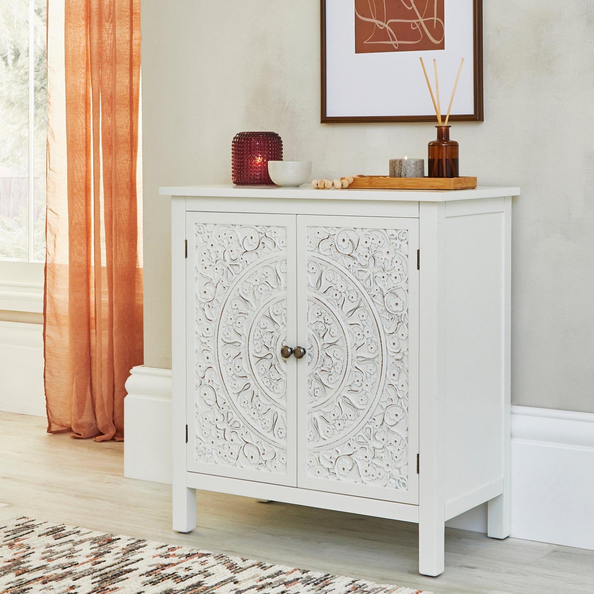 Samira Small Sideboard White