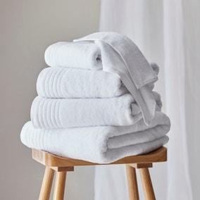 Dorma Tencel Sumptuously Soft Snow Towel