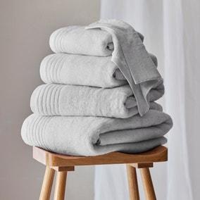 Dorma Tencel Sumptuously Soft Silver Birch Towel