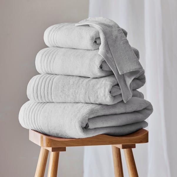 Dorma Tencel Sumptuously Soft Silver Birch Towel  undefined