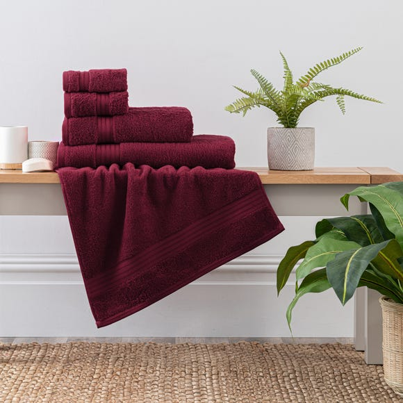 Merlot Egyptian Cotton Towel  undefined