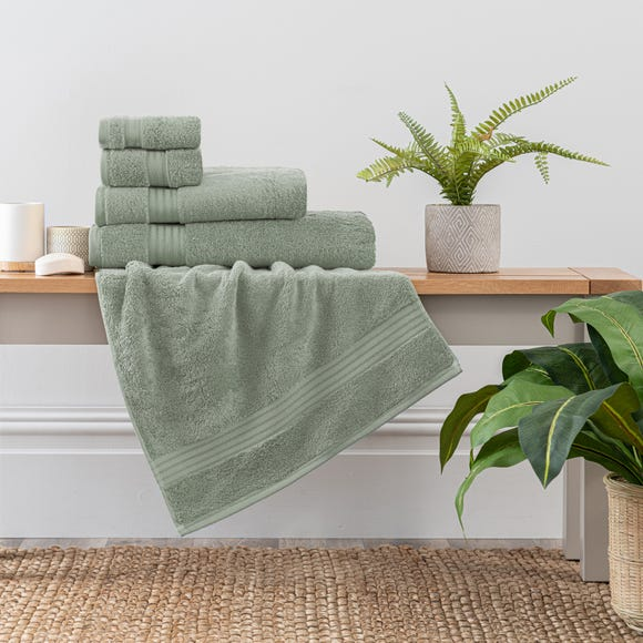 Sage Green Egyptian Cotton Towel  undefined