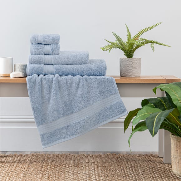 Sky Blue Egyptian Cotton Towel  undefined