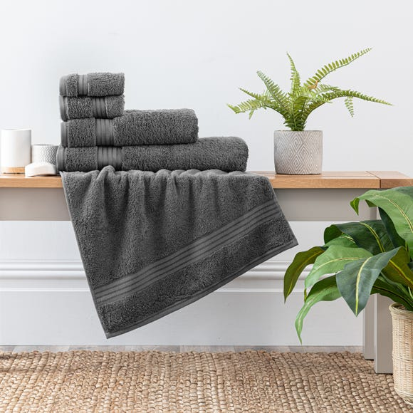 Sterling Grey Egyptian Cotton Towel  undefined