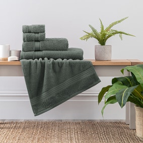 Forest Green Egyptian Cotton Towel