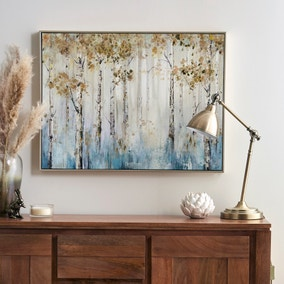 Misty Woods Foiled Boxed Canvas