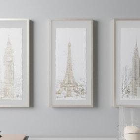 Paris Glam Framed Print