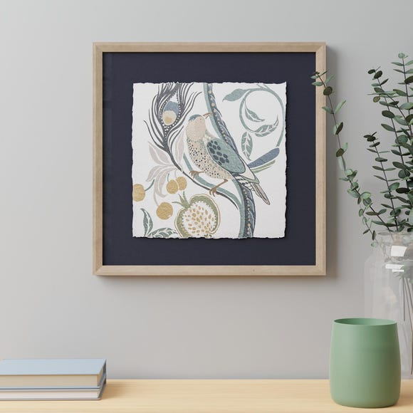 Arts and Crafts Framed Print Gold