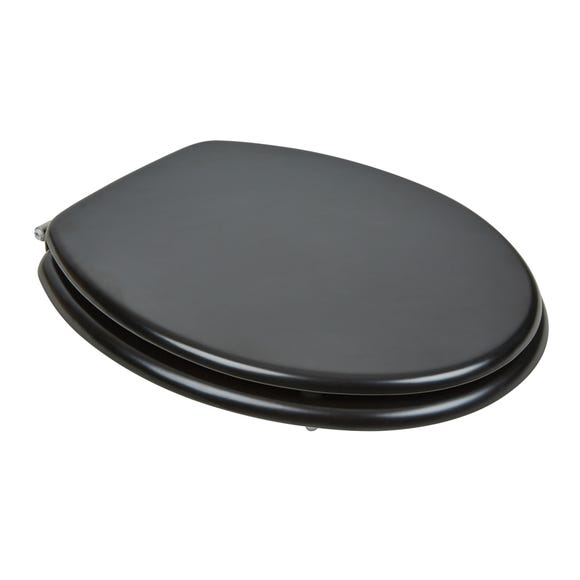Matt Black Toilet Seat Black