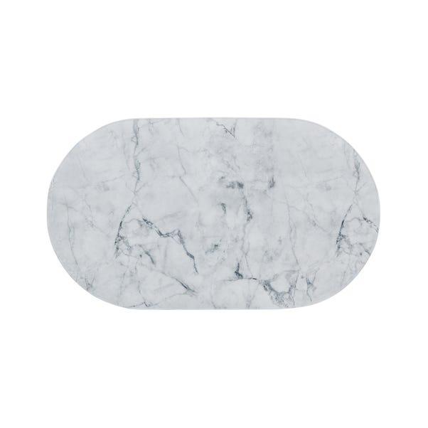 Non-Slip Marble Bath Mat Marble
