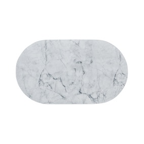 Non-Slip Marble Bath Mat