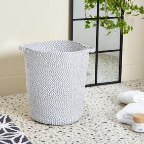 Light Grey Rope Laundry Bag