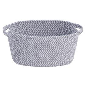 Light Grey Rope Basket