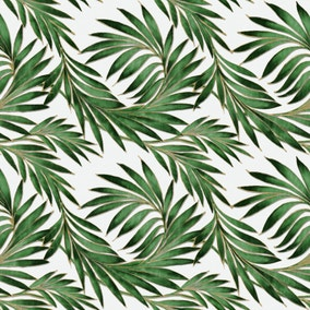 Green Leaves PVC Table Protector