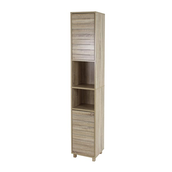 Natural Maia Oak Effect Tallboy Natural
