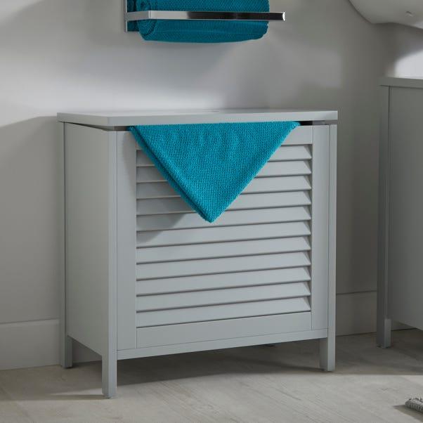 Grey Tuscany Laundry Hamper