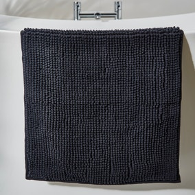 Charcoal Mini Bobble Bath Mat