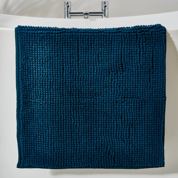 Peacock Mini Bobble Bath Mat