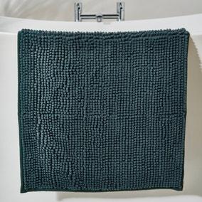 Forest Green Mini Bobble Bath Mat
