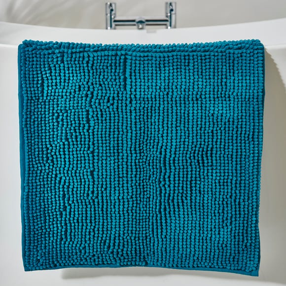 Teal Mini Bobble Bath Mat