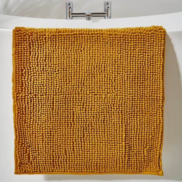 Mustard Mini Bobble Bath Mat