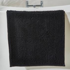 Black Mini Bobble Bath Mat