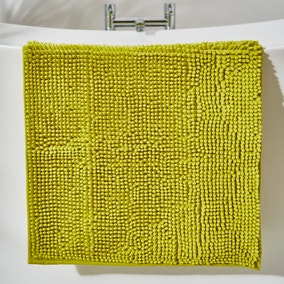 Lime Mini Bobble Bath Mat