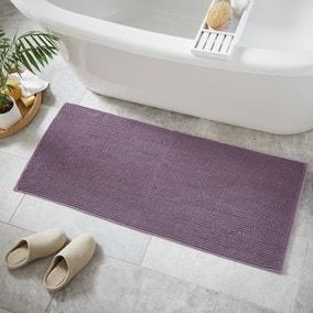 Lavender Mini Bobble Bath Runner