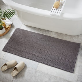 Stone Mini Bobble Bath Runner