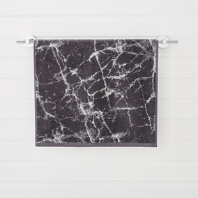 Charcoal Marble Towel