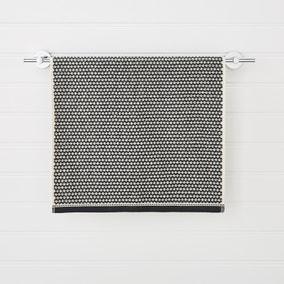 Textured Monochrome Towel