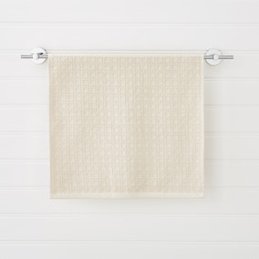 French Cane Natural Towel