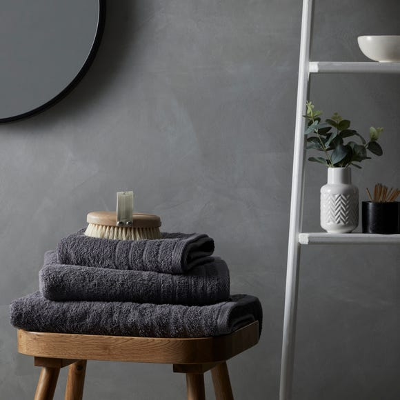 Cotton Soft Anti-Bacterial Charcoal Towel  undefined