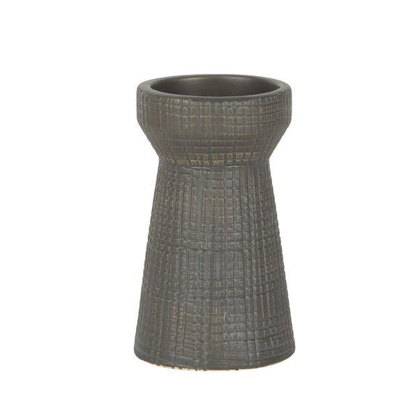 Matte Grey Candle Holder Grey