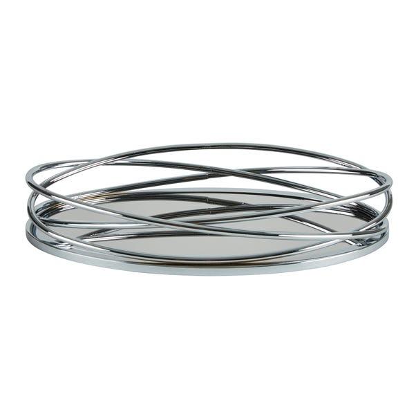 Dorma Silver Oval Tray Silver