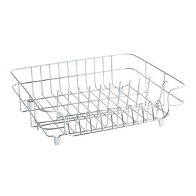 Large White Wire Draining Rack