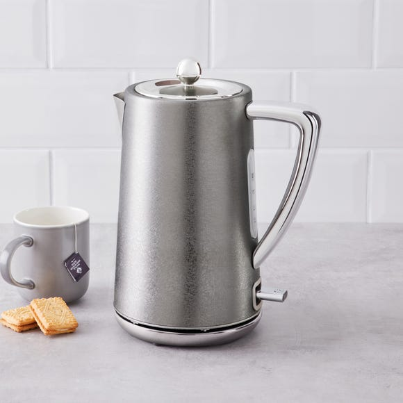 Crackled Effect 1.7L 3kW Champagne Kettle Champagne