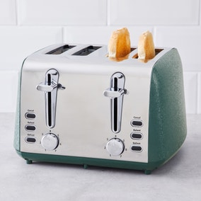 Peacock Crackled Effect Toaster