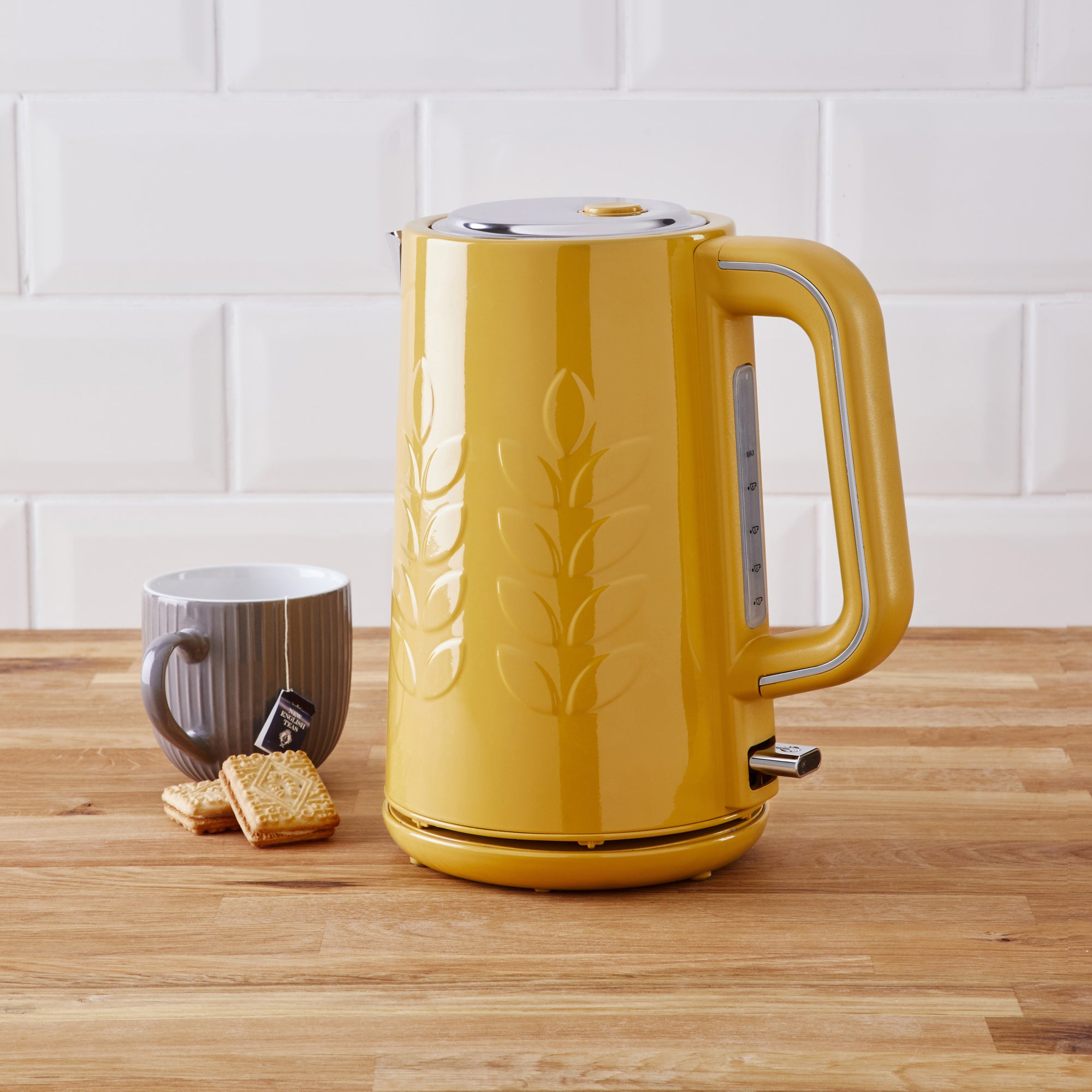 Click to view product details and reviews for Vete 17l 3kw Ochre Kettle Yellow.