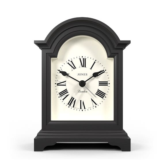 Jones Night and Day Gravity Grey Mantle Clock Grey