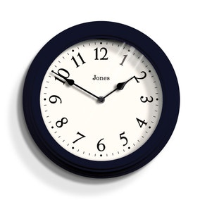 Jones Black Venetian Clock