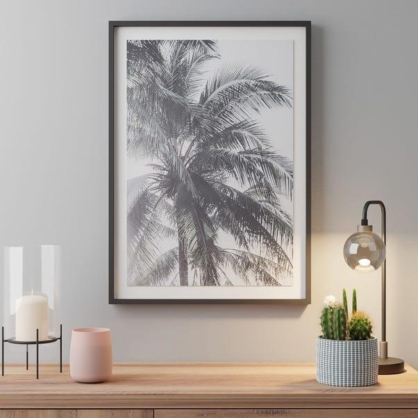 Palm Leaf Photography 2 White