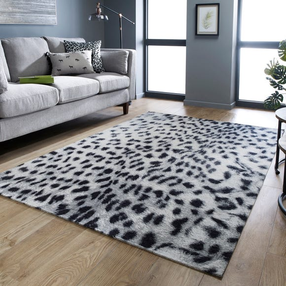 Snow Leopard Rug  undefined