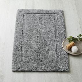 Dorma Sumptuously Soft Dove Grey Bath Mat