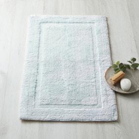 Dorma Sumptuously Soft Duck Egg Blue Bath Mat