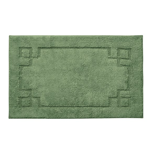 Luxury Cotton Non-Slip Woodland Bath Mat
