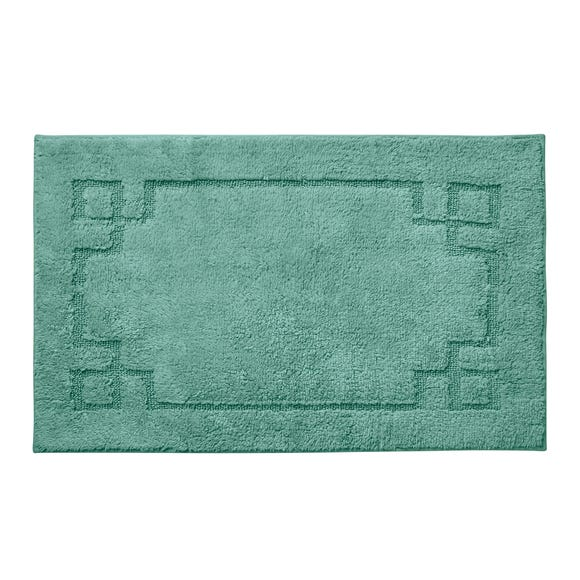 Luxury Cotton Non-Slip Kingfisher Bath Mat
