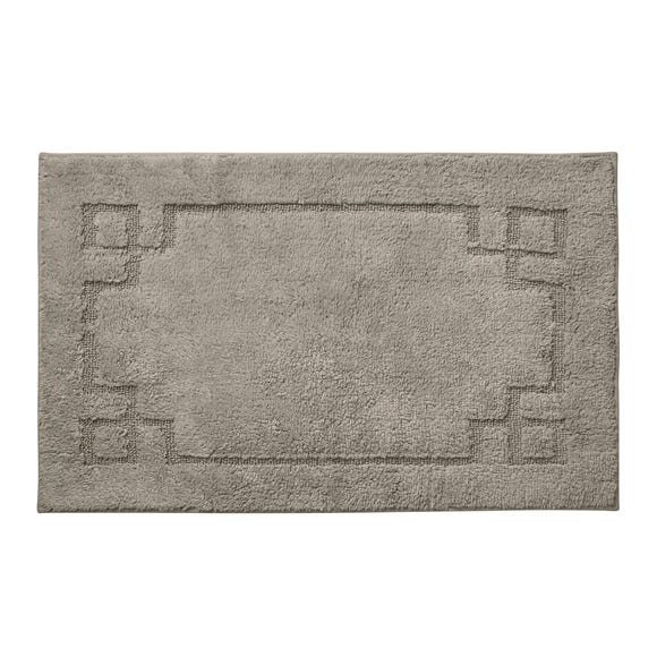 Luxury Cotton Non-Slip Stone Bath Mat