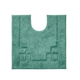 Luxury Cotton Non-Slip Kingfisher Pedestal Mat