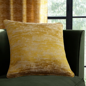 Luxe Texture Old Gold Cushion